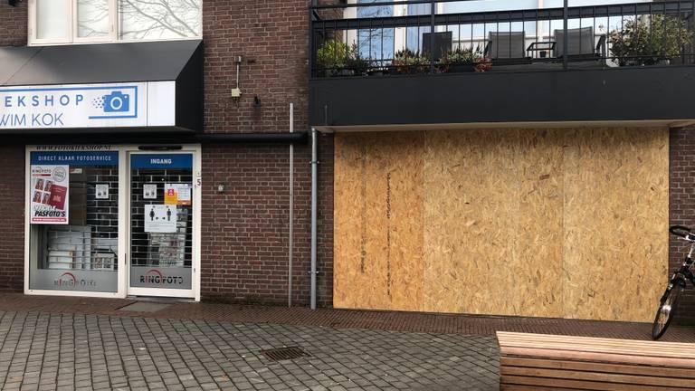 Winkels in Rosmalen zijn afgesloten.