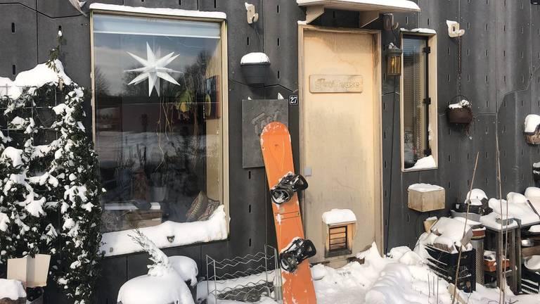 Tijd om te snowboarden (foto: Lobke Kapteijns).