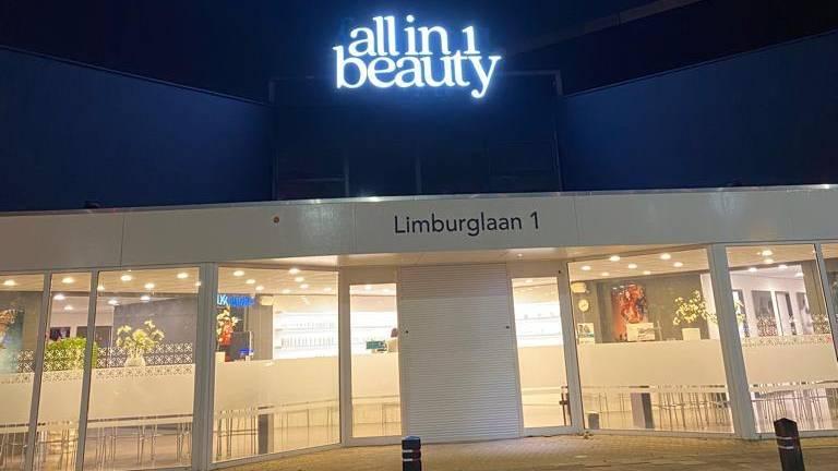 Waar eerst in Eindhoven Just Wellness zat zit nu een nieuwe eigenaar met een beautysalon (foto: André Martens).