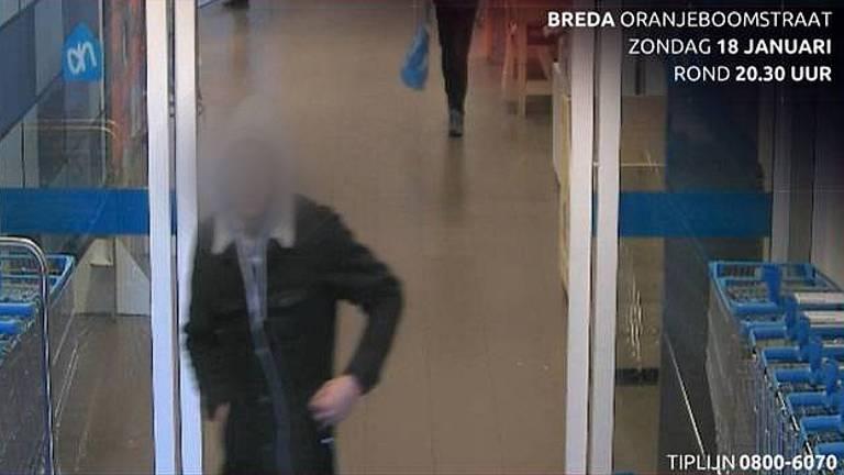 Beelden van de man werden vorig jaar al getoond in Bureau Brabant (foto: politie).