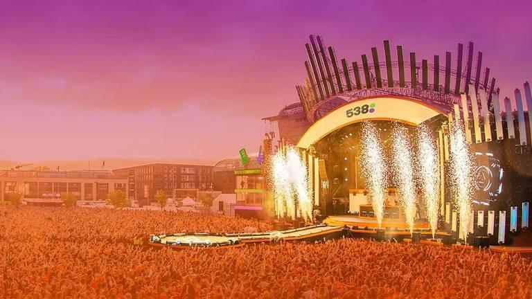 Naast de 538 Oranjedag, is er ook een groot festival in Gelderland een week later (foto: Radio 538).