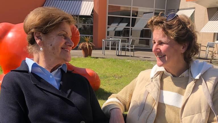 Marie-Louise Boogmans en haar dochter Madeleine Lomans