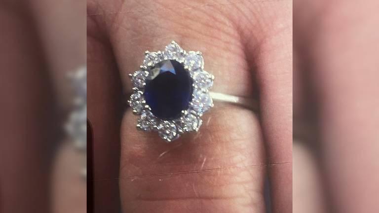 De gestolen ring (foto: Omroep Brabant).