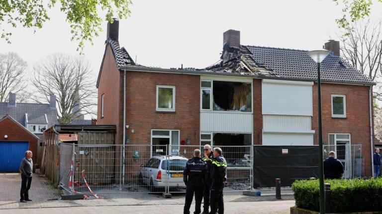 De schade aan het huis was groot (Foto: SQ Vision).