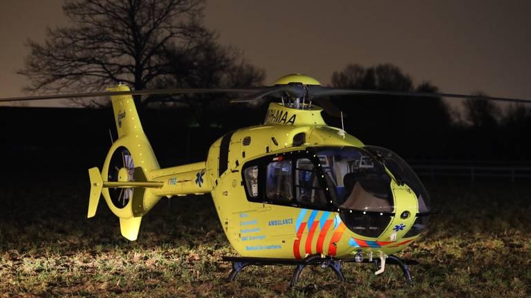 Er werd onder meer een traumahelikopter opgeroepen (foto: SQ Vision).