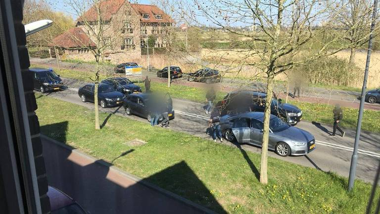 De man werd uiteindelijk in Den Bosch aangehouden (archieffoto).