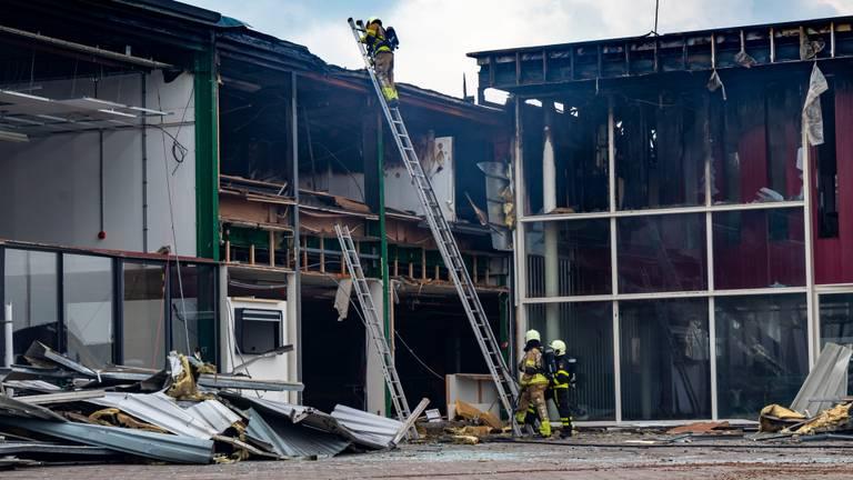 De dag na de brand (foto: Jurgen Versteeg/SQ Vision).