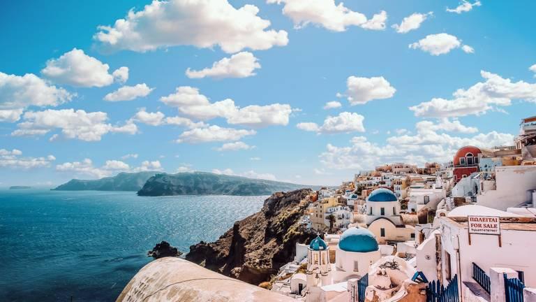 Reizen naar Santorini wordt afgeraden (foto: Pexels).
