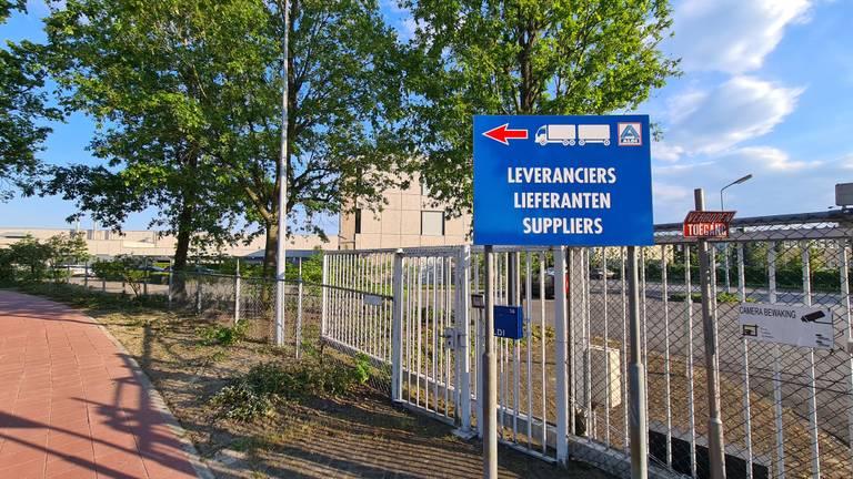 Het distributiecentrum (foto: Omroep Brabant).