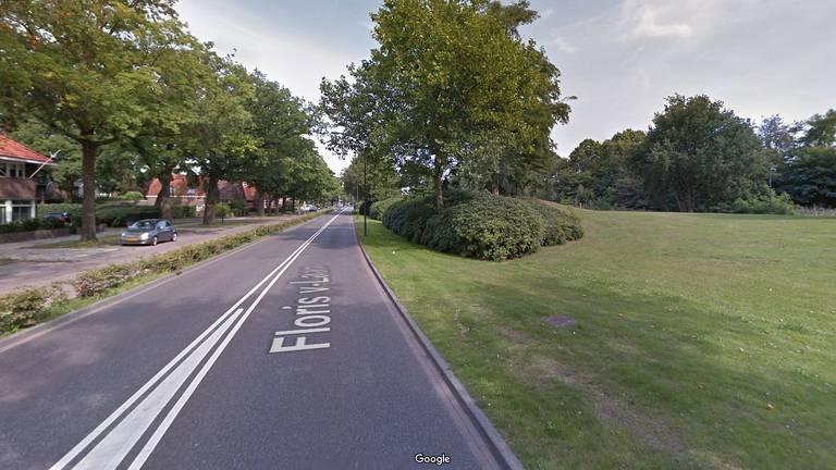 De Floris V-laan in Waalwijk (foto: Google Streetview).