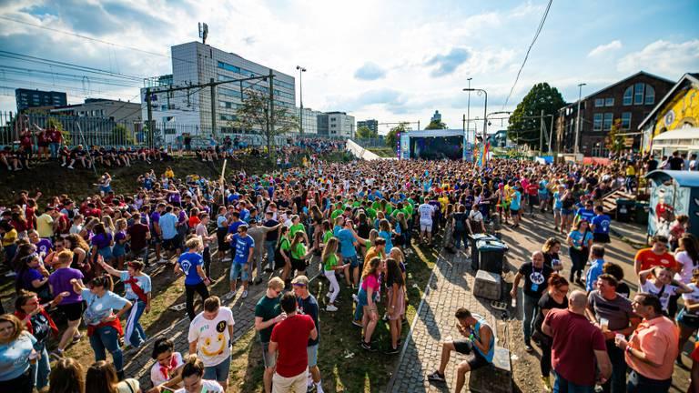 Het Purple Festival in 2019 (foto: Fontys).