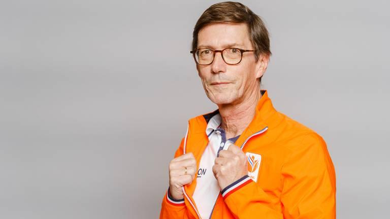 Roeicoach Josy Verdonkschot (foto: ANP 2021/Marco de Swart).