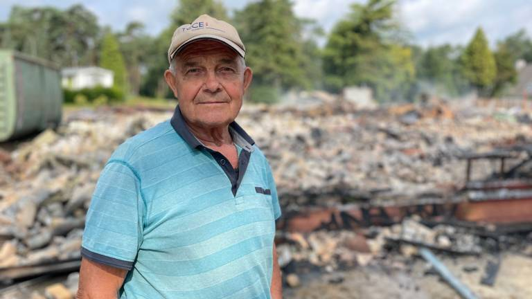 Jan van Bakel (79) heeft mooie herinneringen aan het gebouw (foto: Raymond Merkx).