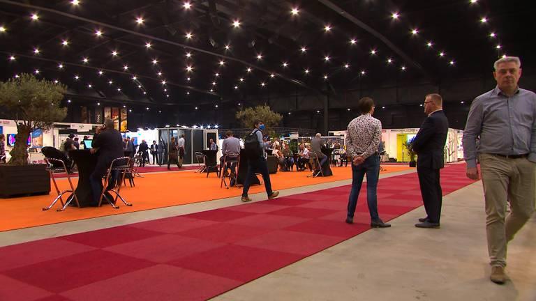 Genoeg ruimte op de kunstoffenbeurs in de Brabanthallen