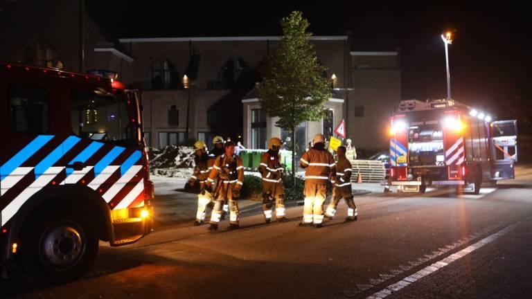 De brandweer was snel paraat (foto: Sander van Gils/SQ Vision Mediaprodukties).