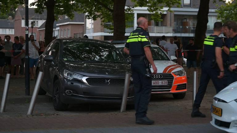 Belgische en Nederlandse politie achtervolgen auto in Breda: één verdachte opgepakt, tweede gevlucht