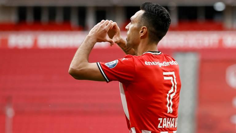 Eran Zahavi reageert: 'Dit is de meest emotionele goal in mijn loopbaan'