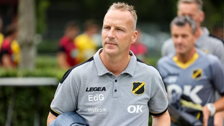 Edwin de Graaf is de nieuwe trainer van NAC (foto: OrangePictures).