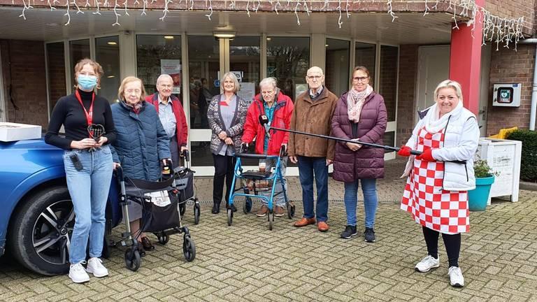 Bij woonzorgcentum Mariahove in Ossendrecht werd Christel met open armen ontvangen