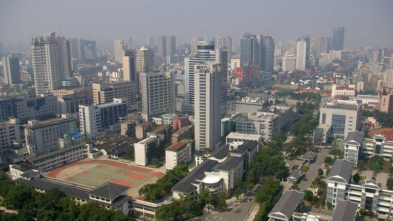 Changzhou in China, zusterstad van Tilburg in Brabant (Foto: Wikimedia).