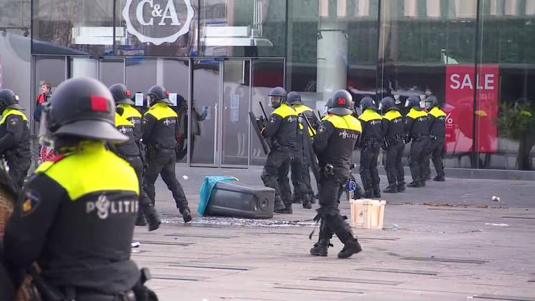 Chaos in centrum Eindhoven