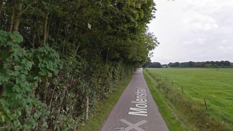 De Molenstraat in Zegge (beeld: Google Streetview)