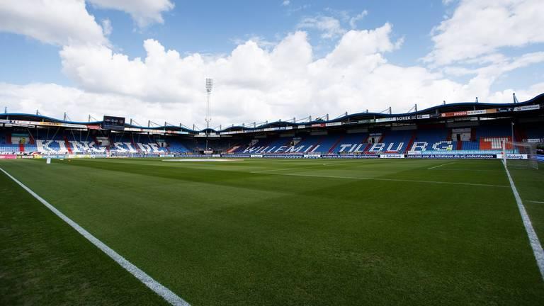 Het Koning Willem II Stadion in Tilburg. (Foto: Hollandse Hoogte)