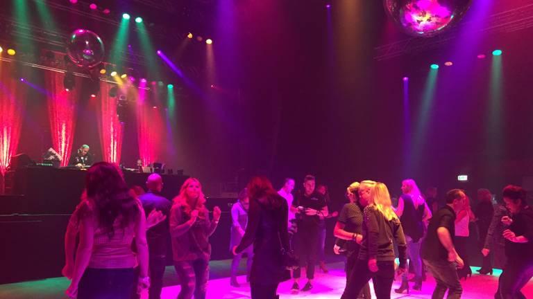Een feestje in de Effenaar in Eindhoven.