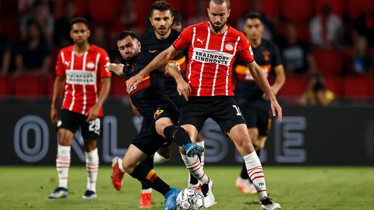 PSV won afgelopen woensdag met 5-1 van Galatasaray (foto: ANP).
