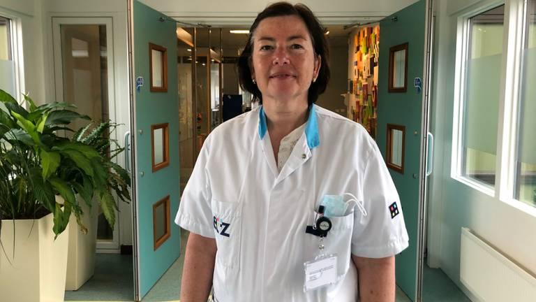 Manager Desirée Burger van de intensive care in het Elisabeth-TweeSteden Ziekenhuis (foto: ETZ).