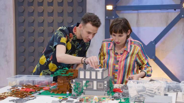 Jan en Lola winnen LEGO MASTERS