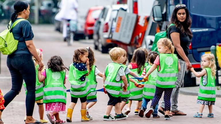 Grote tekorten in de kinderopvang (foto: ANP).