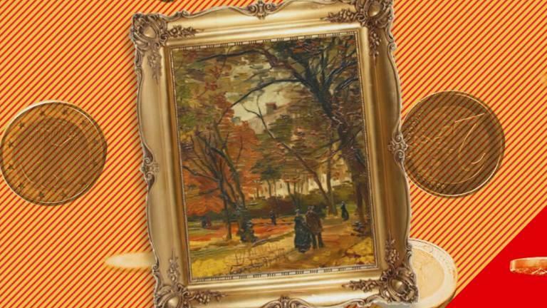 Een Van Gogh (beeld: Brabant Vandaag).