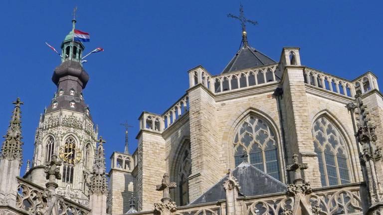 De Grote of Onze-Lieve-Vrouwekerk in Breda (foto: Jan Korebrits).