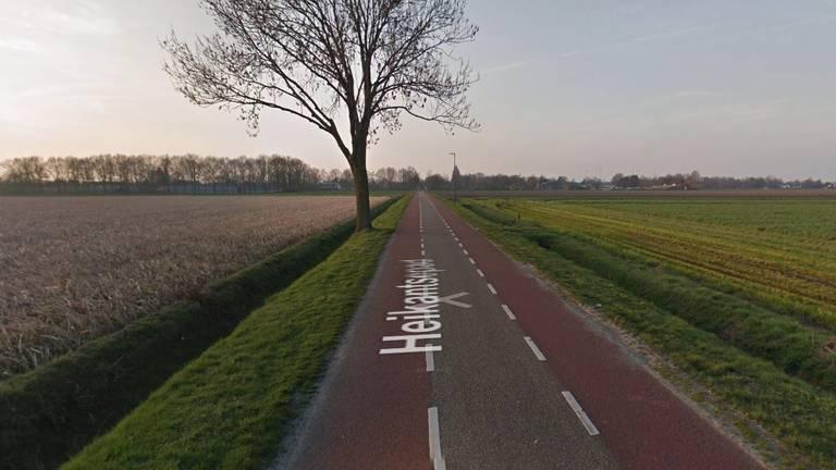 Het Heikantsepad in Volkel (beeld: Google Streetview).