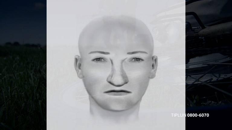 De man werd na de aanval via opsporingsprogramma's gezocht (beeld: Bureau Brabant).