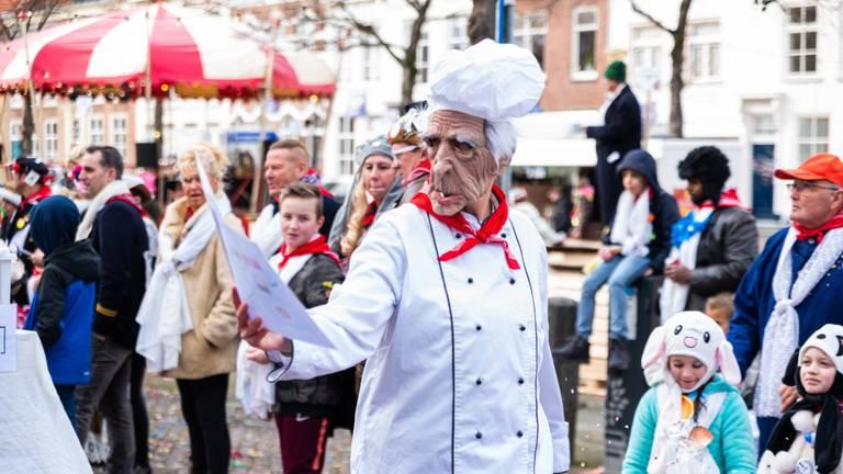Archieffoto van de optocht in Bergen op Zoom (foto: Kevin Cordewener).