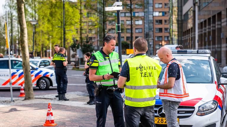 Bommelding in Eindhoven. (Foto: Sem van Rijssel / SQ Vision Mediaprodukties)