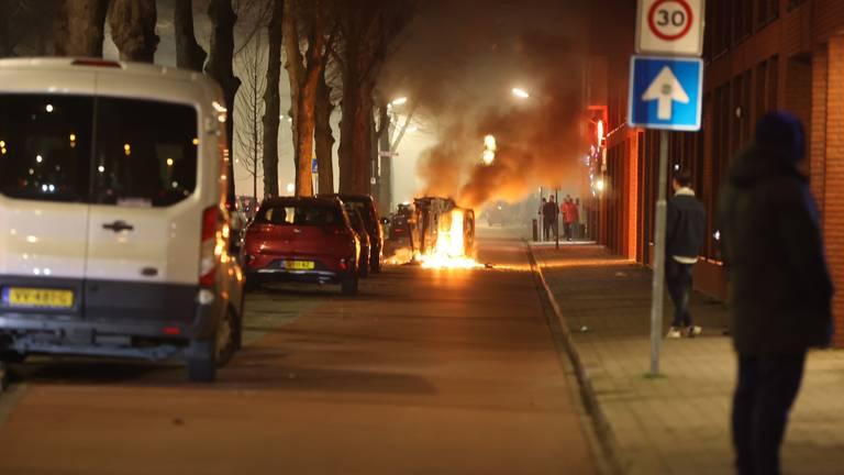 In de Graafsewijk hangt een gespannen sfeer (foto: Bart Meesters / SQ Vision).