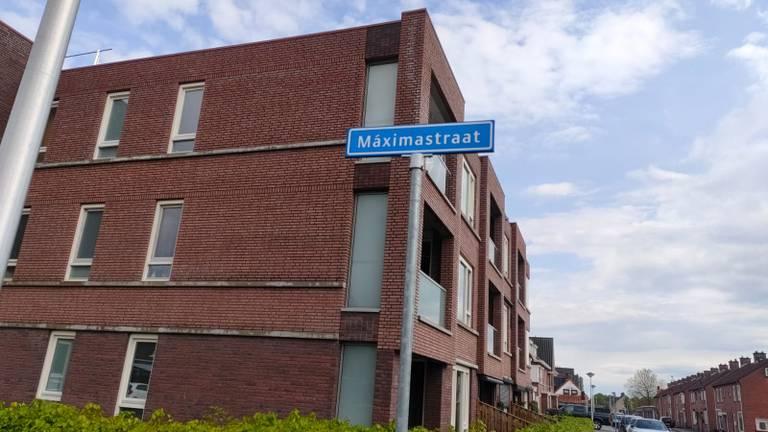 De Máximastraat in St. Willebrord (foto: Sabrina Gaarenstroom).