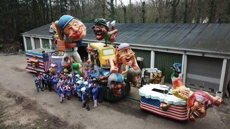 De wagen van De Bokkerijders uit Hoogerheide heb je voor 6000 tot 7000 euro (foto: Jordy de Dooij).