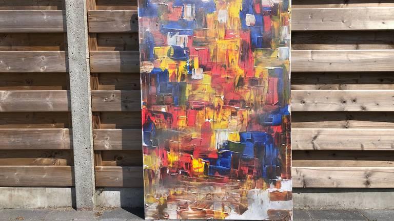 Een kleurrijke creatie van Rob van Daal.