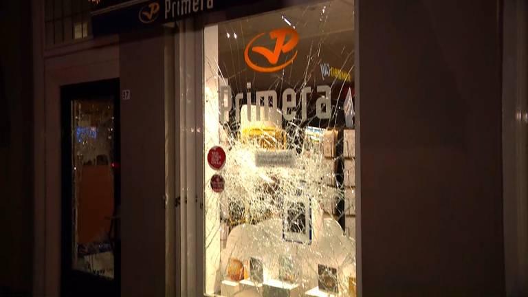 Ruiten van de Primera in Den Bosch zijn aan diggelen geslagen.
