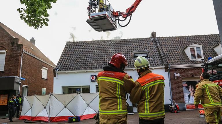 Verschillende hulpdiensten werden opgeroepen (foto: Harrie Grijseels/SQ Vision).