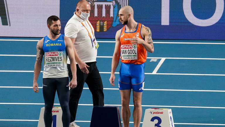 Van Gool gediskwalificeerd (foto: OrangePictures)