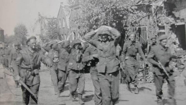 De Duitse krijgsgevangen in Hedel