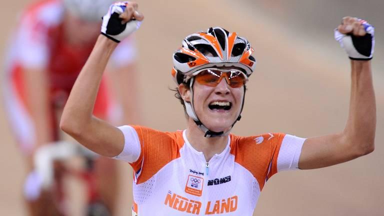Marianne Vos wint in 2008 puntenkoers op  de Spelen