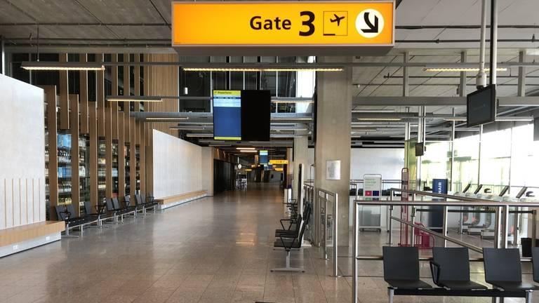 Op  Eindhoven Airport was het de afgelopen maanden vaak erg rustig (archieffoto).