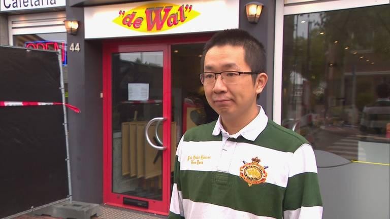 Han Zhao schrok wakker (foto: Omroep Brabant).