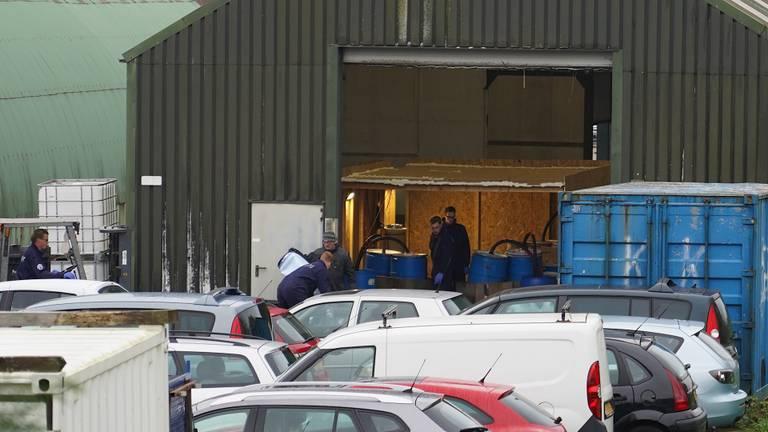 Het lab werd ontmanteld (foto: SQ Vision).